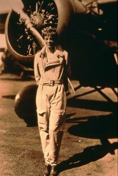 """""""Lady Lindy"""", Amelia Earhart 1887-1937."""