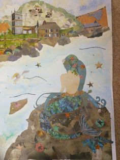Mermaid of zennor cornwall West Cornwall, Great Britain, Devon, Wicca, Mermaids, Infographics, Artworks, Legends, Information Graphics