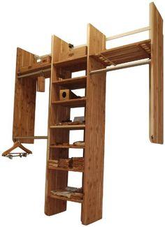 Good Cedar Green 801 Aromatic Cedar Complete Closet Kit, 14 Feet Of Shelving, 10