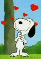Snoopy Animated Gif ~ Renkli Duvar
