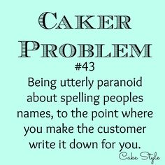 Stressed about spelling? Post Quotes, Quotes To Live By, Funny Quotes, Bakery Quotes, Problem Quotes, Instagram Cake, Funny Cake, Cake Business, Fashion Cakes
