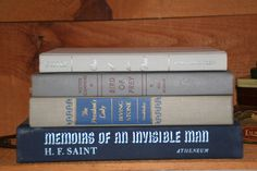 A Vintage Blue and Gray Instant Library by RiverOfTimeTreasures, $20.00