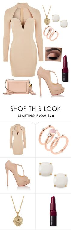 """""""Outfit #244"""" by beg2believe on Polyvore featuring Rare London, Michael Kors, Christian Louboutin, Kate Spade, 2028, Bobbi Brown Cosmetics and Tory Burch"""