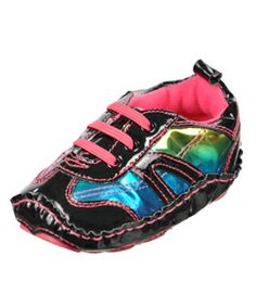 "Rising Star ""Britt"" Sneaker Booties (Infant Girls Sizes 0M – 24M) $7.99"