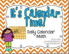 Growing Kinders: It's Calendar Time!