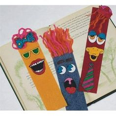 S Worldwide Face It Bookmarks Craft Kit (Makes 25)