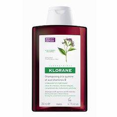 Klorane Strengthening Shampoo with Quinine & Vitamin B- 6.7 fl oz - for really greasy hair