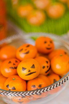 We Heart Parties | Easiest healthy Halloween snack