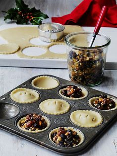 by Michael Paul. christmas little pies