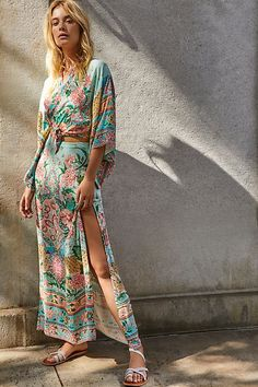 Lotus Kimono Set by Spell and the Gypsy Collective at Free People