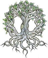 Rocket and Roses Vegan Kitchen: Tattoo Love: Trees