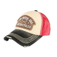Casquette Von Dutch Rouge et Noire Dylan Motorcycles livré en Motorcycles, Shopping, Fashion, Hard Hats, Sombreros, Crowns, Hair Caps, Man Women, Accessories