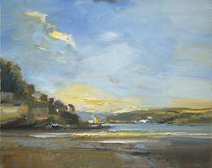 David Atkins, Evening Light, Salcombe