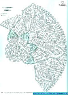 crochet doilies Kira scheme crochet: Scheme crochet no. Filet Crochet, Mandala Au Crochet, Free Crochet Doily Patterns, Crochet Doily Diagram, Crochet Motifs, Crochet Chart, Thread Crochet, Crochet Scarves, Crochet Clothes