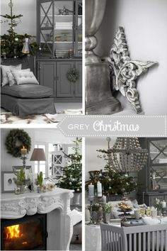 Home Shabby Home: Christmas in Grey