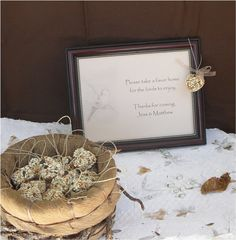 100 Bird Seed Heart Wedding Favors Free Shipping by naturefavors, $128.95