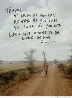 @alysonmcgarvey #travel #quote