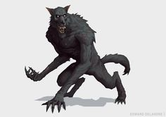 Client work for Erebus Studios, very bloodbornish! goodnight everybody! Fantasy Monster, Monster Art, Creature Feature, Creature Design, Fantasy Creatures, Mythical Creatures, Werewolf Art, Vampires And Werewolves, Creatures Of The Night