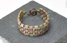 Cobblestone Path Bracelet - Rochelle Petersen | Freebies | Perlen Poesie