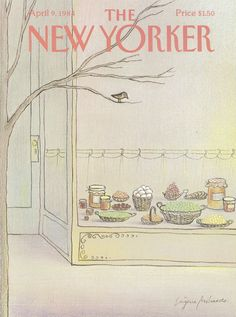 The New Yorker - Monday, April 9, 1984 - Issue # 3086 - Vol. 60 - N° 8 - Cover by : Eugène Mihaesco