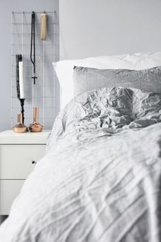 Via NordicDays.nl | Mitt Og Vårt Hjem | Grey | Bedroom