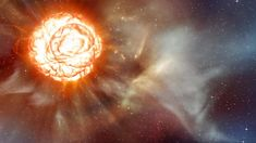Recently, the media has often discussed the prospect of becoming a supernova of one of the brightest stars in the sky - Betelgeuse. Rumor has it that it will ex John Herschel, Neutron Star, Rumor Has It, Shock Wave, Light Year, Star Sky, Bright Stars, Constellations, Astronomy