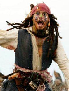 Jonny Depp invented pirates! :)