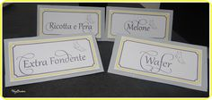 labels for sweet table wedding  etichette per confettata matrimonio