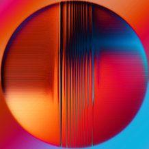 digital op art by Charline Lancel | Rainbow