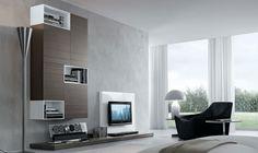 Pareti Attrezzate Moderne: 70 Idee di Design per Arredare Casa   MondoDesign.it
