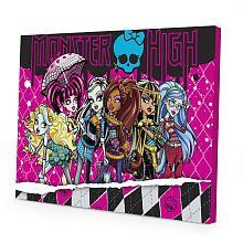 Monster High LED Canvas Wall Art