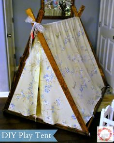 A Glimpse Inside: DIY Play Tent