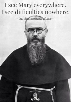 Thank you for the reminder, St. Maximilian Kolbe!