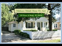 Midtown Mobile Home For Sale | 159 Kenan St Mobile AL 36606. 159 Kenan St is a precious Midtown Cottage. The homes curb appeal is fabulous with the large open front porch, mature landscaping, and the white picket fence is the cherry on top.
