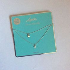 Lovisa-sliver-necklaces-Double-pack-Brand-new this is actually the best necklace ever... I'm in love