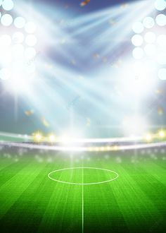 Manchester United, Champions League Draw, Football Field, Game Ui, Spotlight, Northern Lights, Buttons, Nature, Art