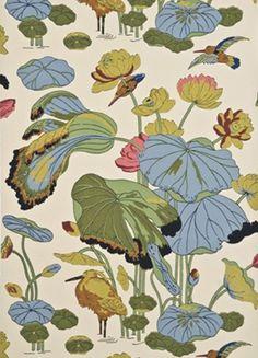 GP & J Baker - Nympheus Wallpaper Original