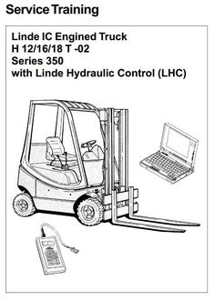 Original Illustrated Factory Operating and Maintenance Instructions for Linde Electric Forklift