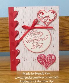 Lots of Hearts Valentine Card