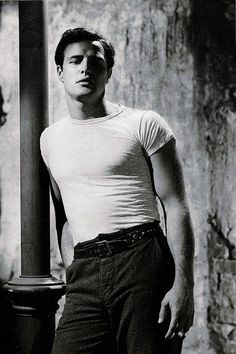 Marlon Brando, menswear, style icon