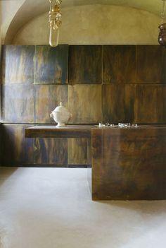 Interior design | decoration | home decor | kitchen | materials, textures, colors | Vincenzo De Cotiis Architects