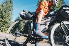 Specialized AWOL Review, Bikepacking, Porcelain Rocket bags