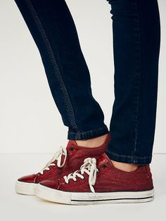 Converse x John Varvatos Jv Dyed Canvas Chucks at Free People Clothing Boutique