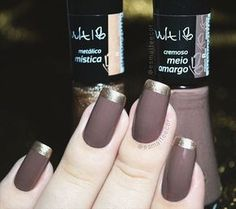 Great Ideas For Holiday Nails – NaiLovely Manicure And Pedicure, Gel Nails, Nail Polish, Fancy Nails, Trendy Nails, Perfect Nails, Gorgeous Nails, French Tip Nails, Super Nails