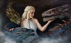ArtStation - Fan Art To The Game of Thrones, Boris Martsev