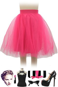 """Why spend $238 on a W&D tulle skirt when you can get one just like it in TWO colors at Le Bomb Shop for $42 with FREE U.S. s/h! Check out our brand new """"Ballet Babe Tulle Pinup Skirt!"""" Available in Fuchsia Pink and Baby Pink.. buy both here: http://lebombshop.net/search?type=product&q=ballet+babe+tulle+pinup+skirt&search-button.x=0&search-button.y=0"""