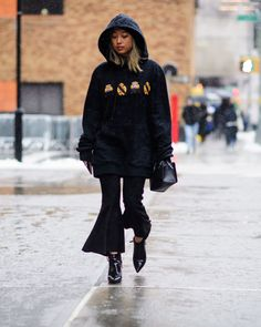ELLE's bomvolle New York Fashion Week streetstyle report  - ELLE.nl