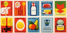 Czech stamps (Food).