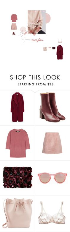 """""""everglow - coldplay"""" by aimable on Polyvore featuring Zara, Maison Margiela, adidas Originals, Acne Studios, Le Specs, Mansur Gavriel and Agent Provocateur"""