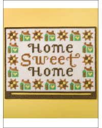 Home Sweet Home plastic canvas pattern $3.99